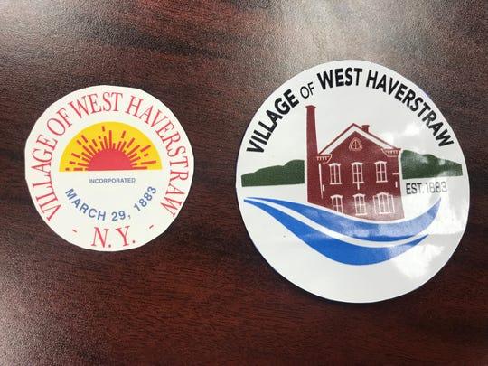 West Haverstraw rebranding logos