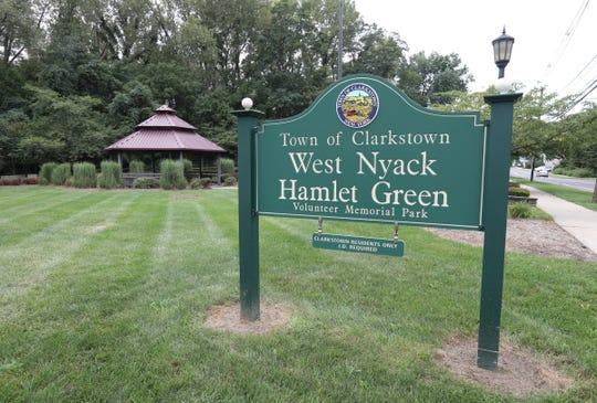 Town of Clarkstown West Nyack Hamlet Green Volunteer Memorial Park. Saturday, September 1, 2018.