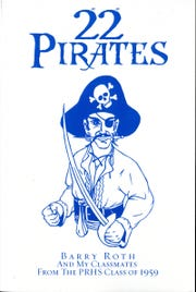 """The cover of the book, """"22 Pirates,"""" about the Pearl River High School class of 1959."""