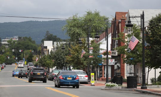 A view of Main Street in New City looking north. Saturday, September 1, 2018.
