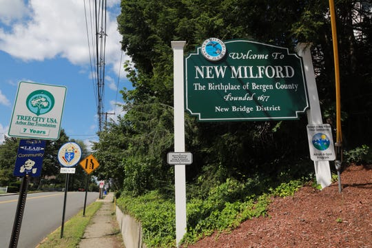 The town of New Milford in Bergen County Aug. 23, 2018.