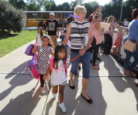 First Day Of Full Day Kindergarten At West Haverstraw Elementary