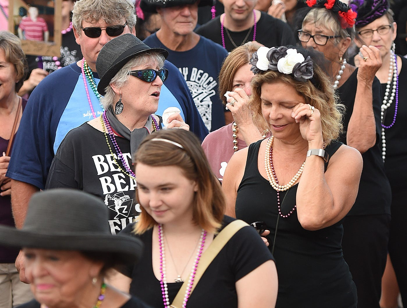 Summer 2018 ended as The 33rd Annual Jazz Funeral was held in Bethany Beach on Labor Day September 3rd with a march down the boardwalk to a Jazz Band and a casket signifying the end of the Season. A large crowd was on hand to see Sister Marie deliver the Eulogy and the thanking of the tourists who have visited the resort. She reminded everyone that the Shoulder Season is now in full bloom with business's still open and lots of great weather still to come.