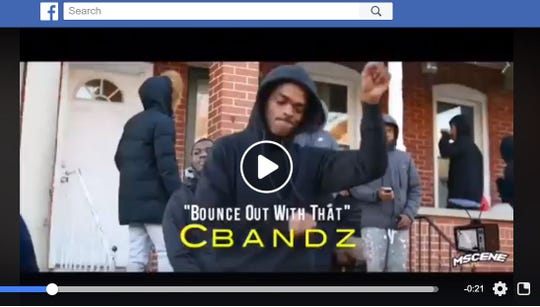 """State prosecutors are using a music video posted online called """"Bounce Out With That"""" to charge multiple young men as members of the Shoot To Kill street gang in Wilmington."""