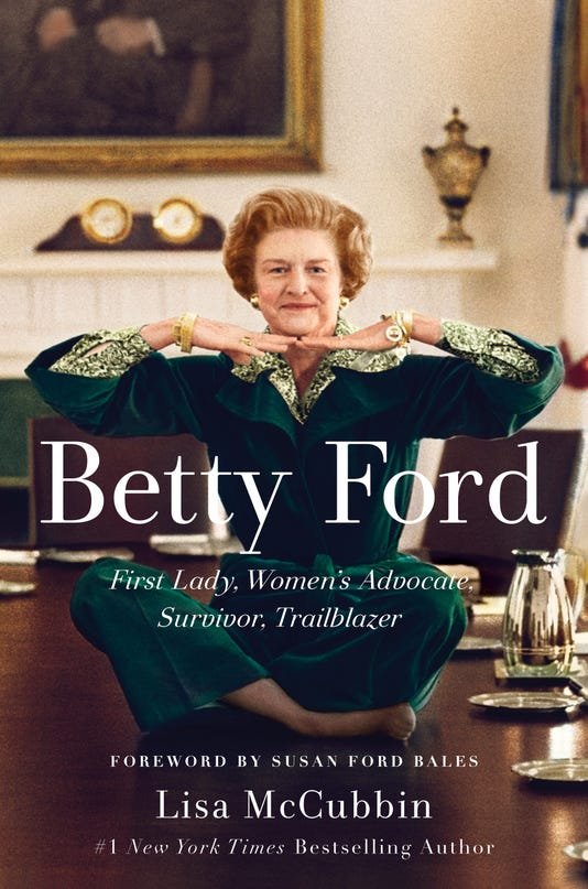 Betty Ford Candid And Vulnerable In A New Biography Review
