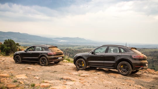 The 2018 Porsche Macan.