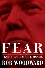 """This image released by Simon & Schuster shows """"Fear: Trump in the White House,"""" by Bob Woodward, available on Sept. 11, 2018."""