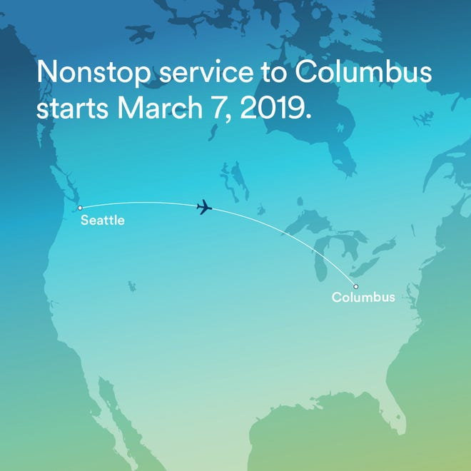 Alaska Airlines: Nonstop flights from Seattle to Columbus ...