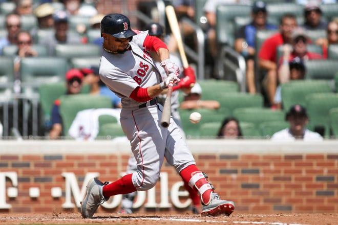 Red Sox right fielder Mookie Betts