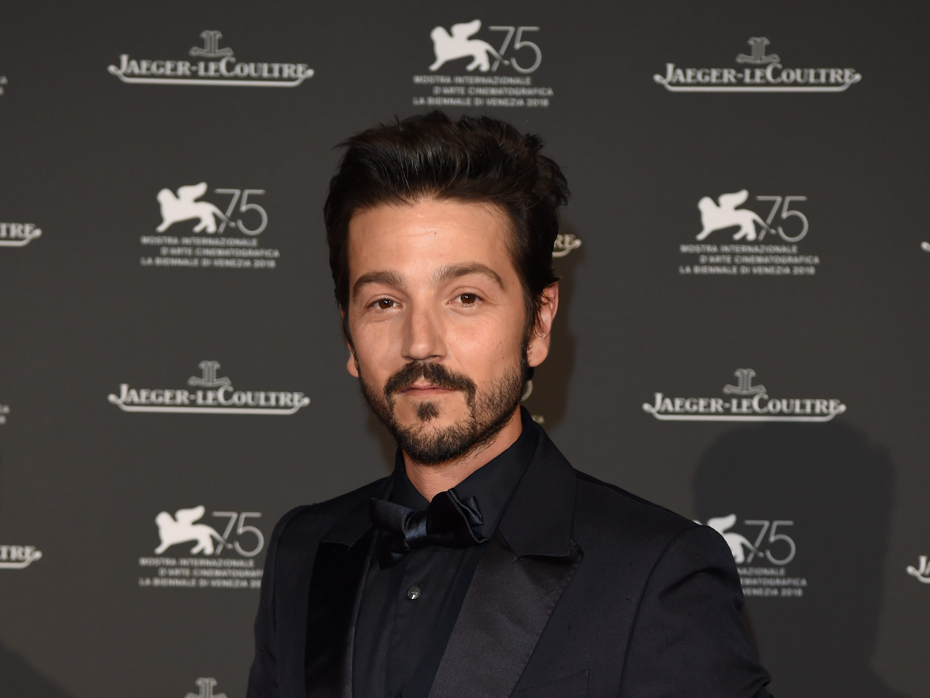 Diego Luna arrives for the Jaeger-LeCoultre Gala Dinner.
