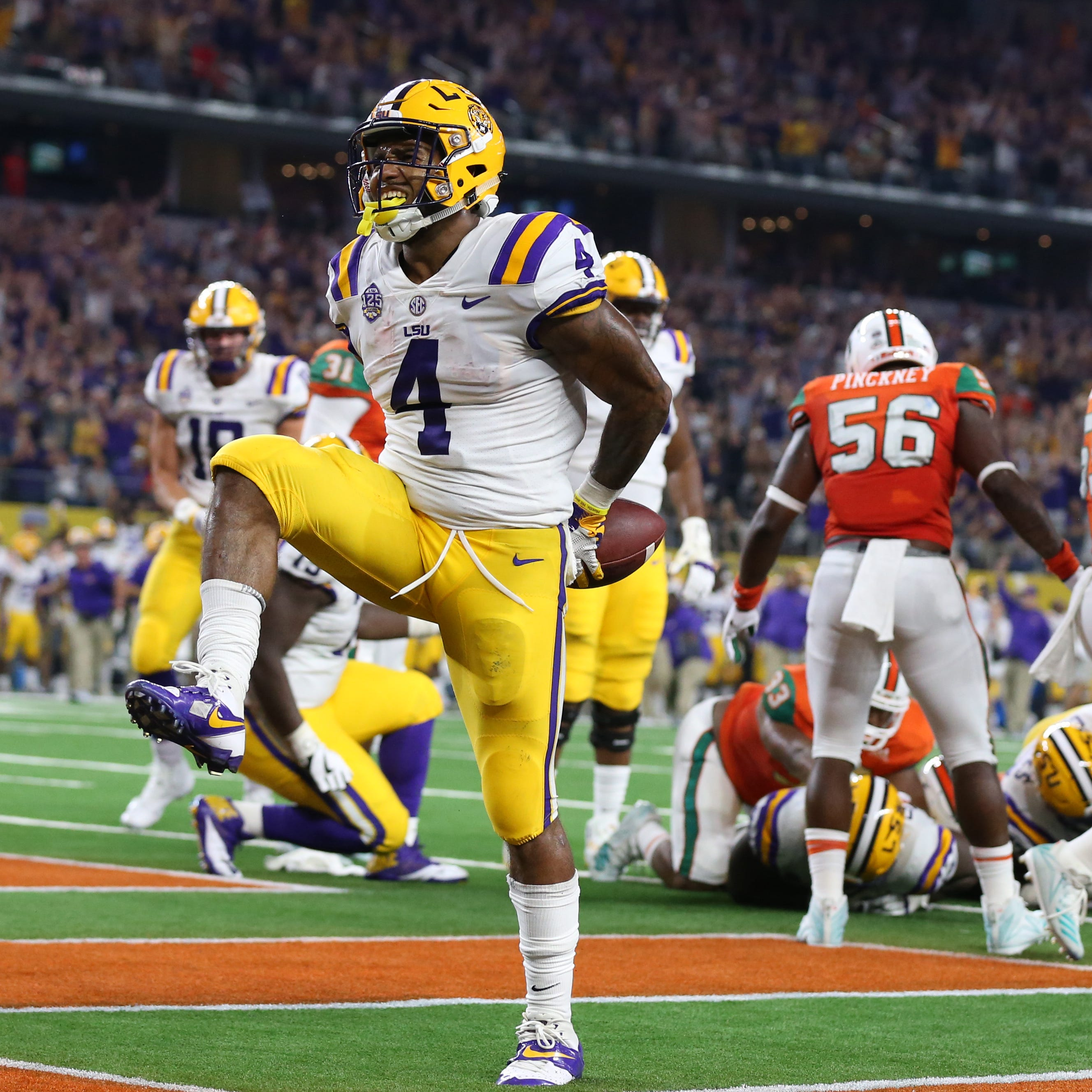 Amway Coaches Poll: Clemson stays steady at No. 2 as LSU jumps nine spots