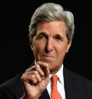 """Former Secretary of State John Kerry has a new book, """"Every Day Is Extra."""" He spoke about it in New York on Tuesday, Sept. 4, 2018."""