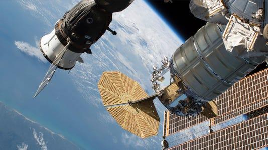 Ap Space Station Leak A Sci Xsp