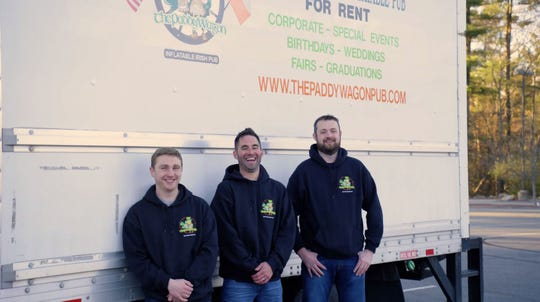 Mike McNamara and team, one of last year's Grow Your Biz Contest finalists.