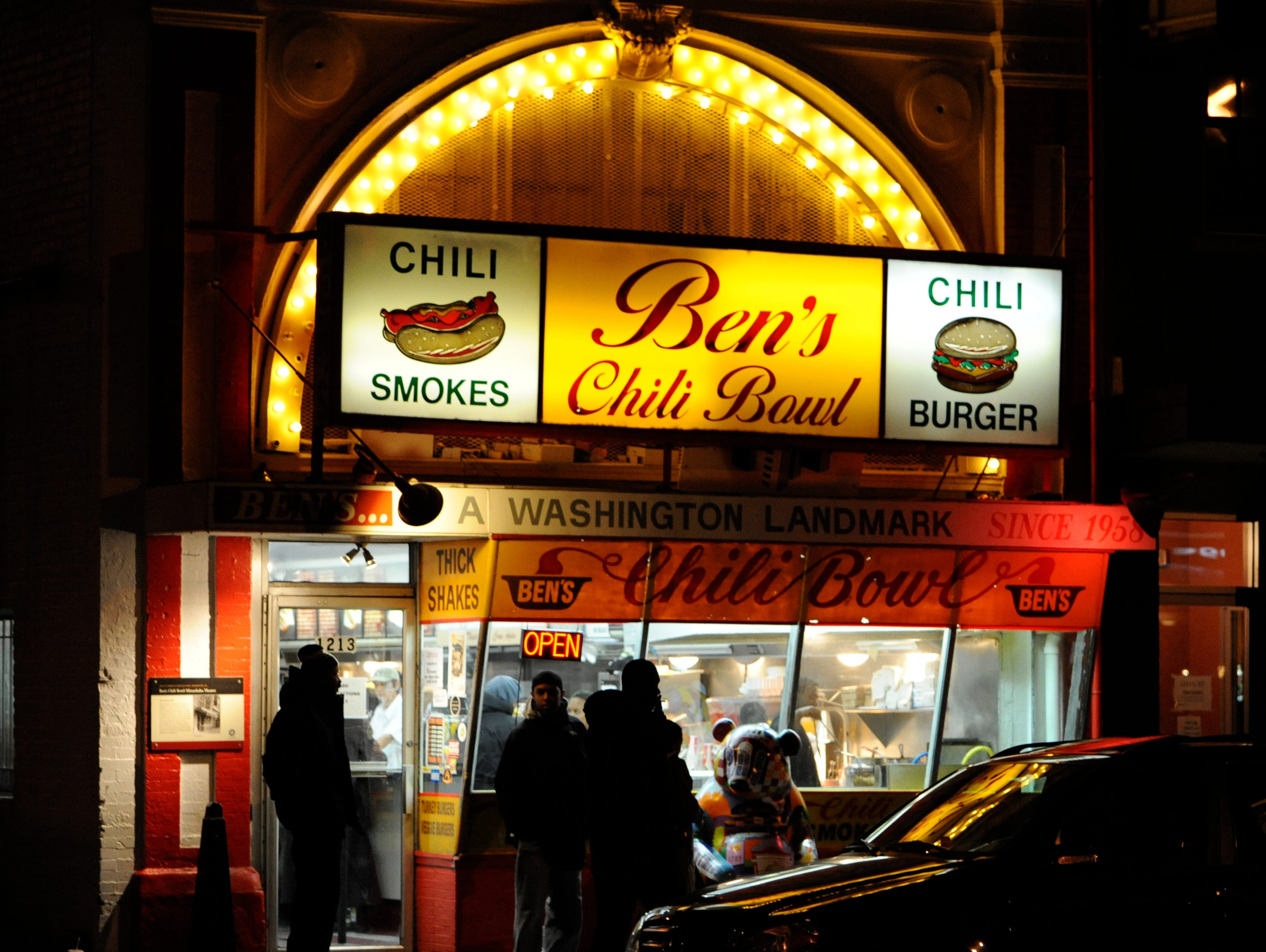 Ben's Chili Bowl is a famous landmark restaurant that has seen U Street through its ups and downs.