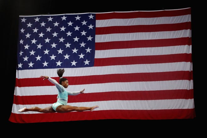 While Simone Biles and other gymnasts continue to success in competition, USA Gymnastics is failing to adequately address the issues that came out of the Larry Nasser scandal.