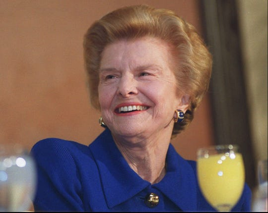 Former first lady Betty Ford is the subject of a new biography.