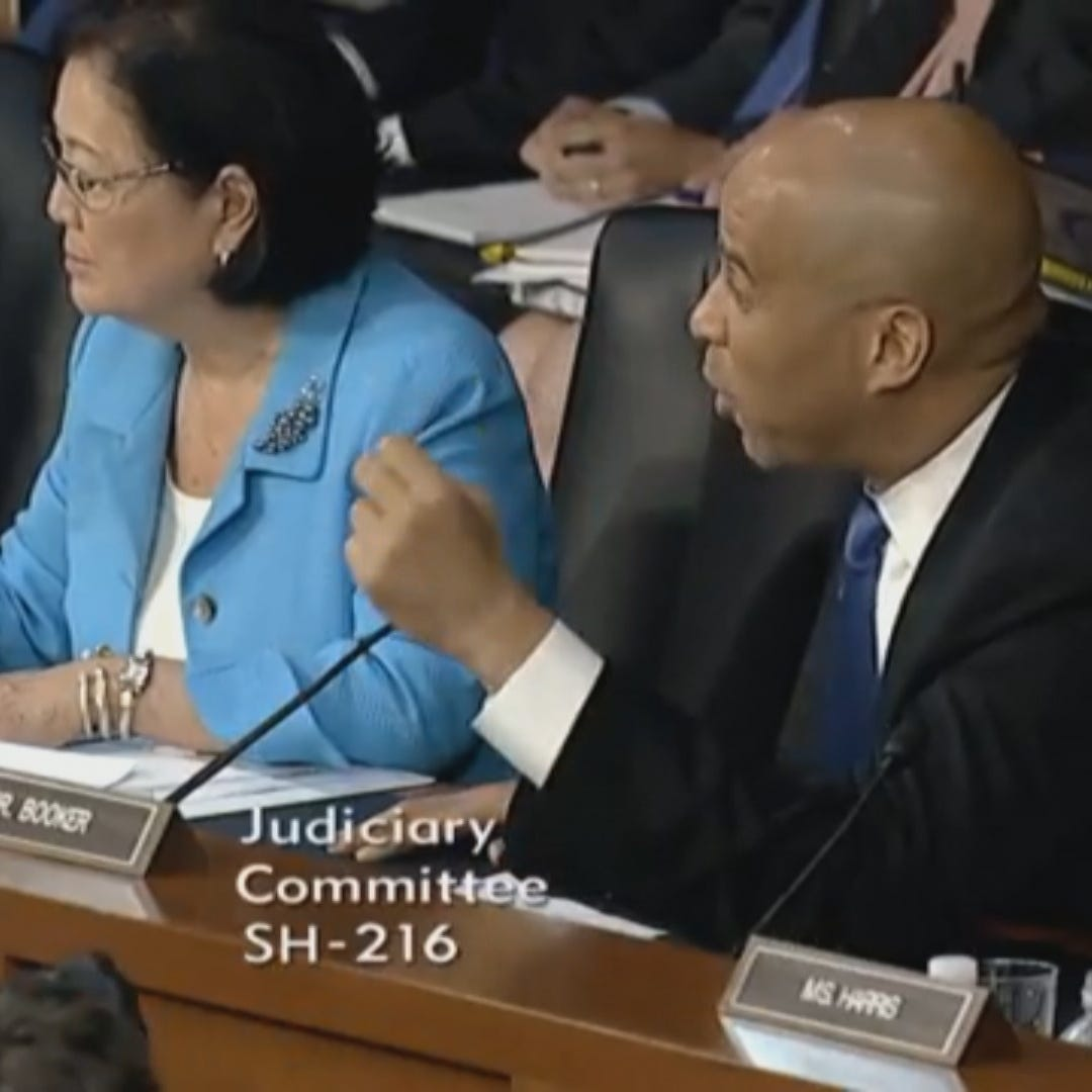Sen. Cory Booker was among several Democratic senators who called for Supreme Court nominee Brett Kavanaugh's confirmation hearing to be postponed.