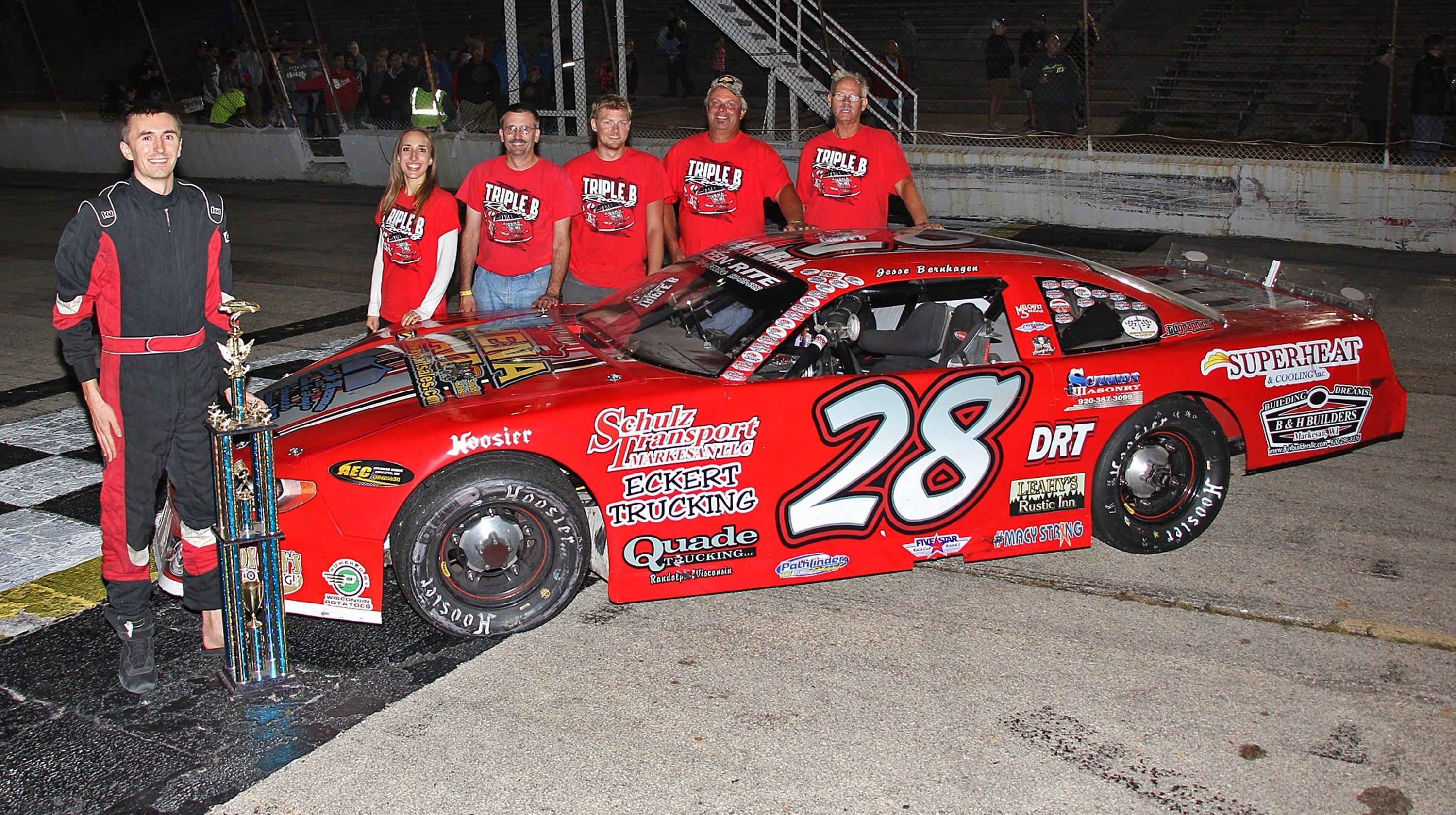 auto racing stock cars NASCAR WIR Wisconsin International ...