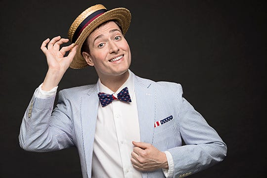 Randy Rainbow is bringing his tour to the Count Basie Center for the Arts on Sept. 13.