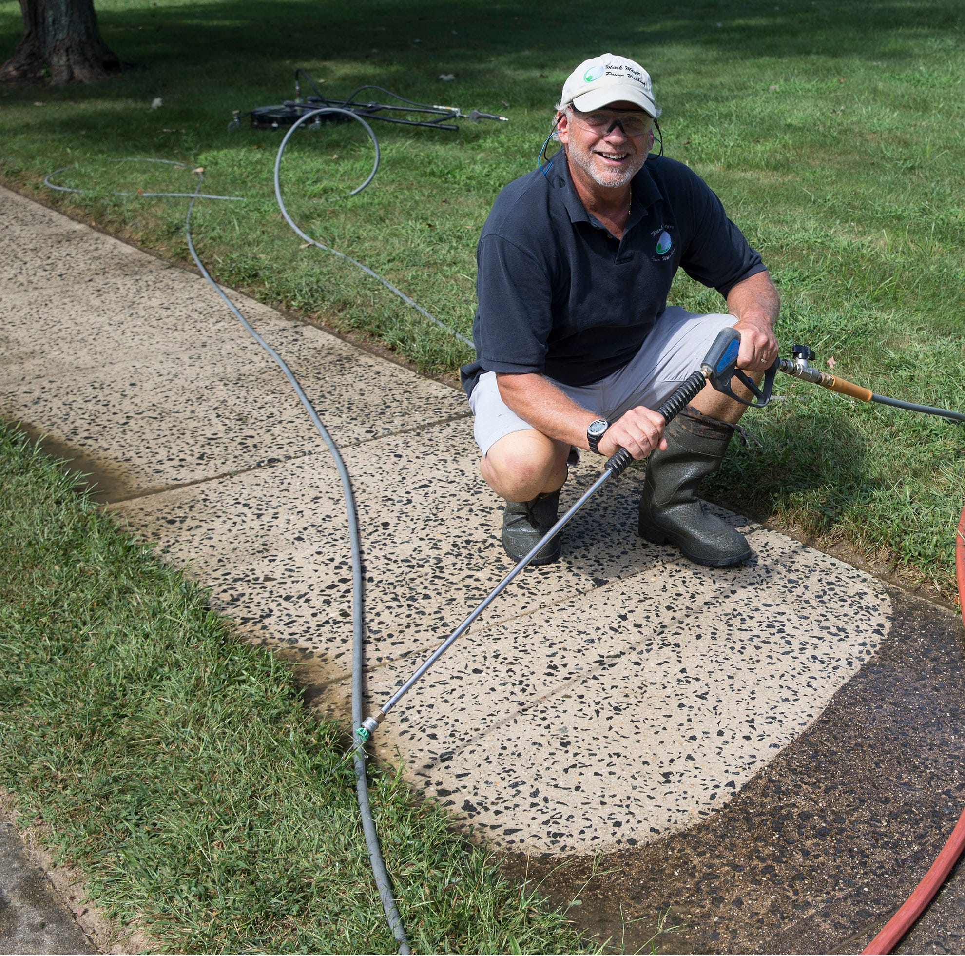 Power washer relies on clean customer service