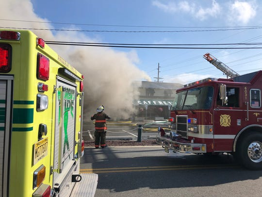 Fire at Caffrey's Tavern in Lacey