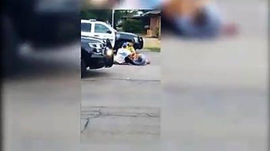 Apd Suspect Runs Moment