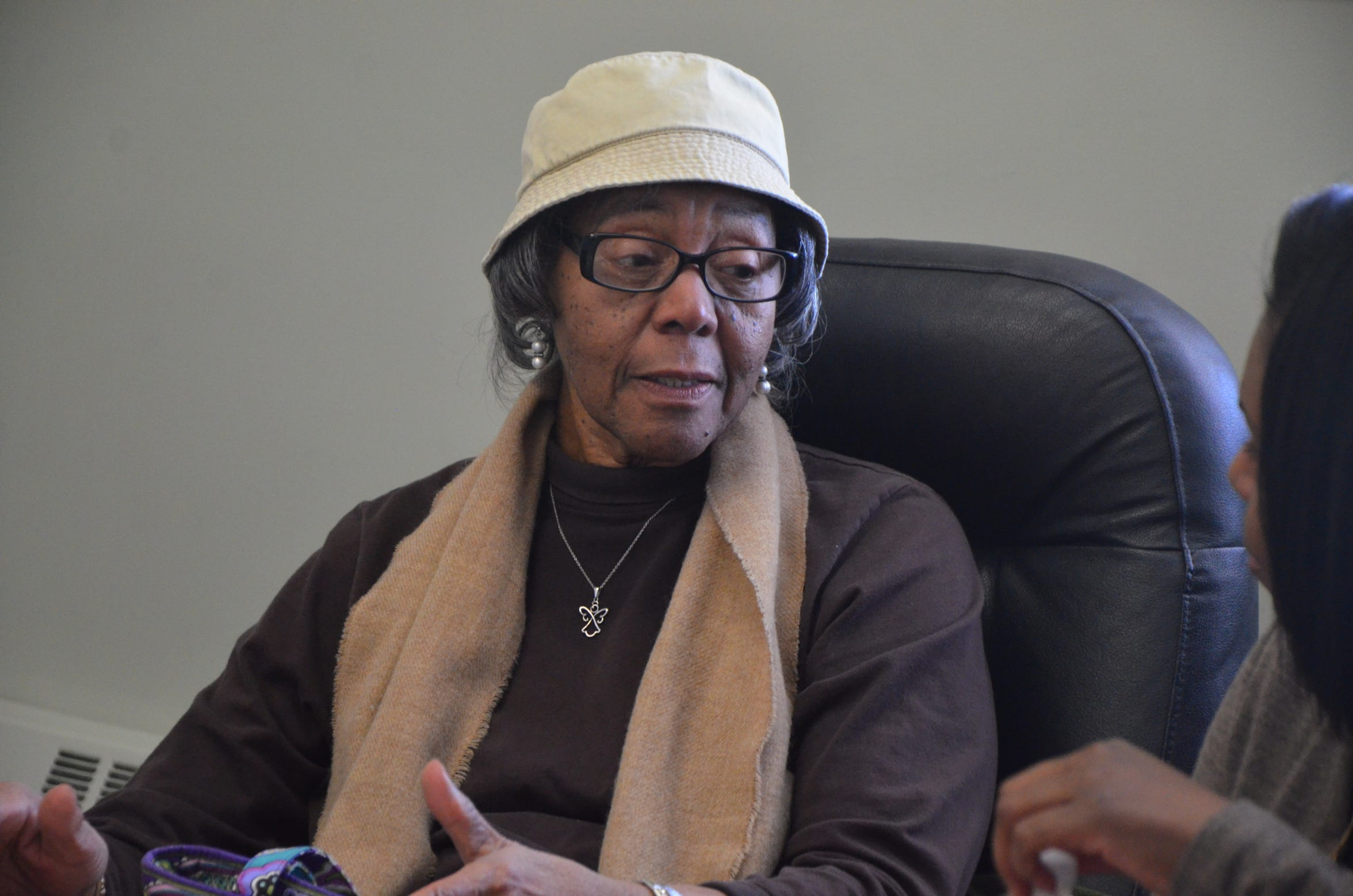 Katherine Walker, 84, talks about growing up in Battle Creek's Bottoms neighborhood.