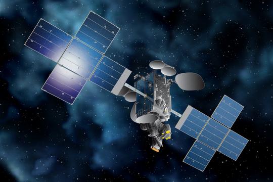 Telesat's Telstar 18 VANTAGE satellite, which was built by SSL in California.