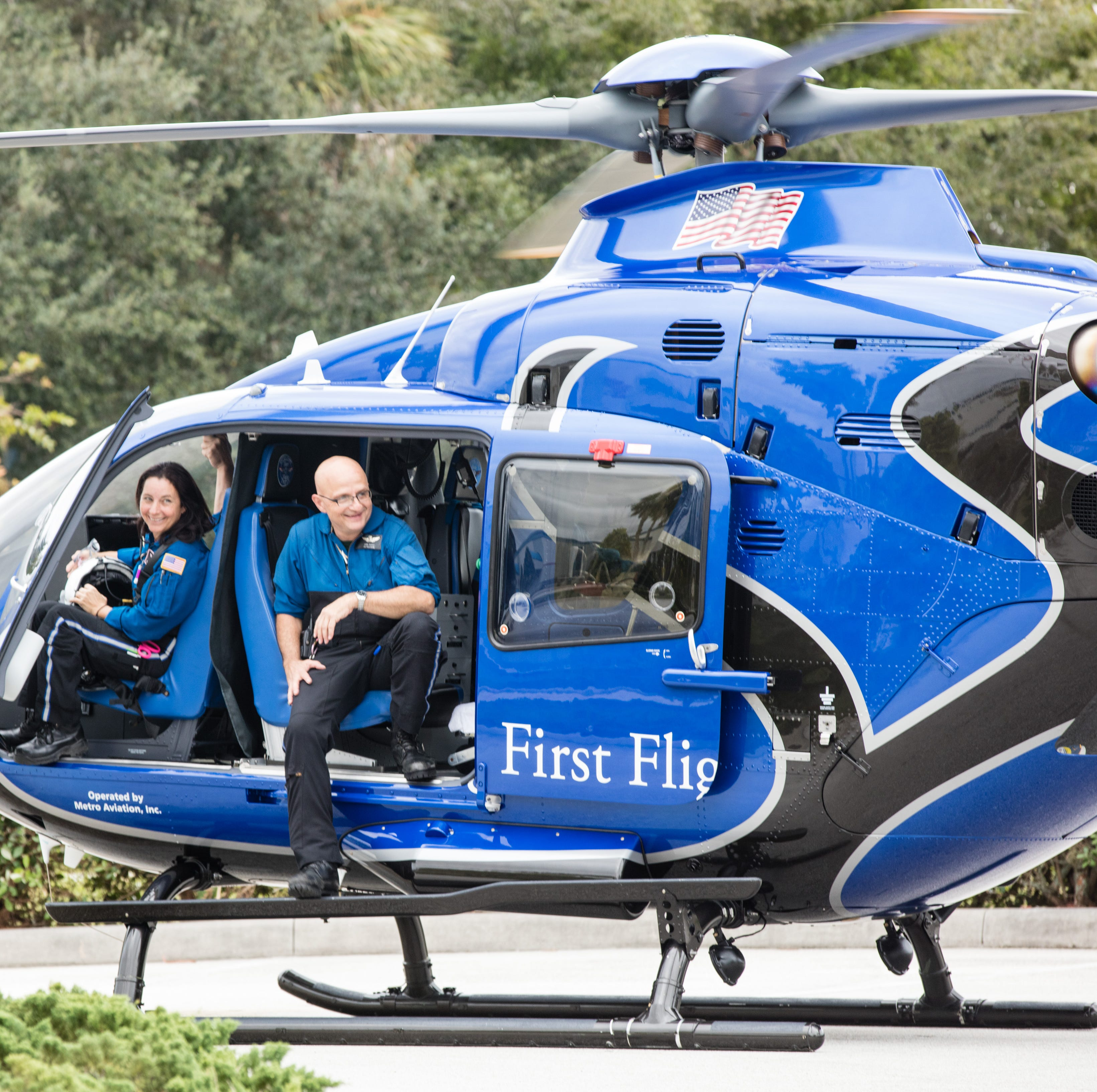 First Flight emergency helicopter service turns 30