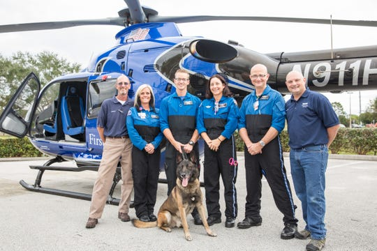 The crew of the First Flight helicopter has the knowledge and skillset to handle most any emergency situation.
