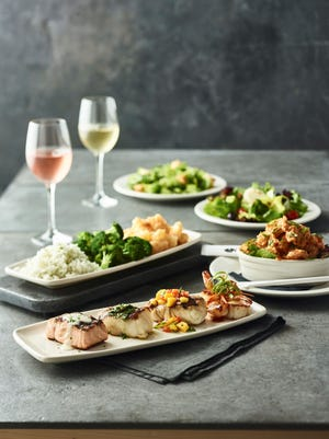Two can enjoy the OMG, or Ocean Mixed Grill, at Bonefish Grill for $49 through the end of this month.