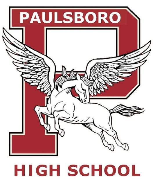 Paulsboro High School Pegasus Logo 2