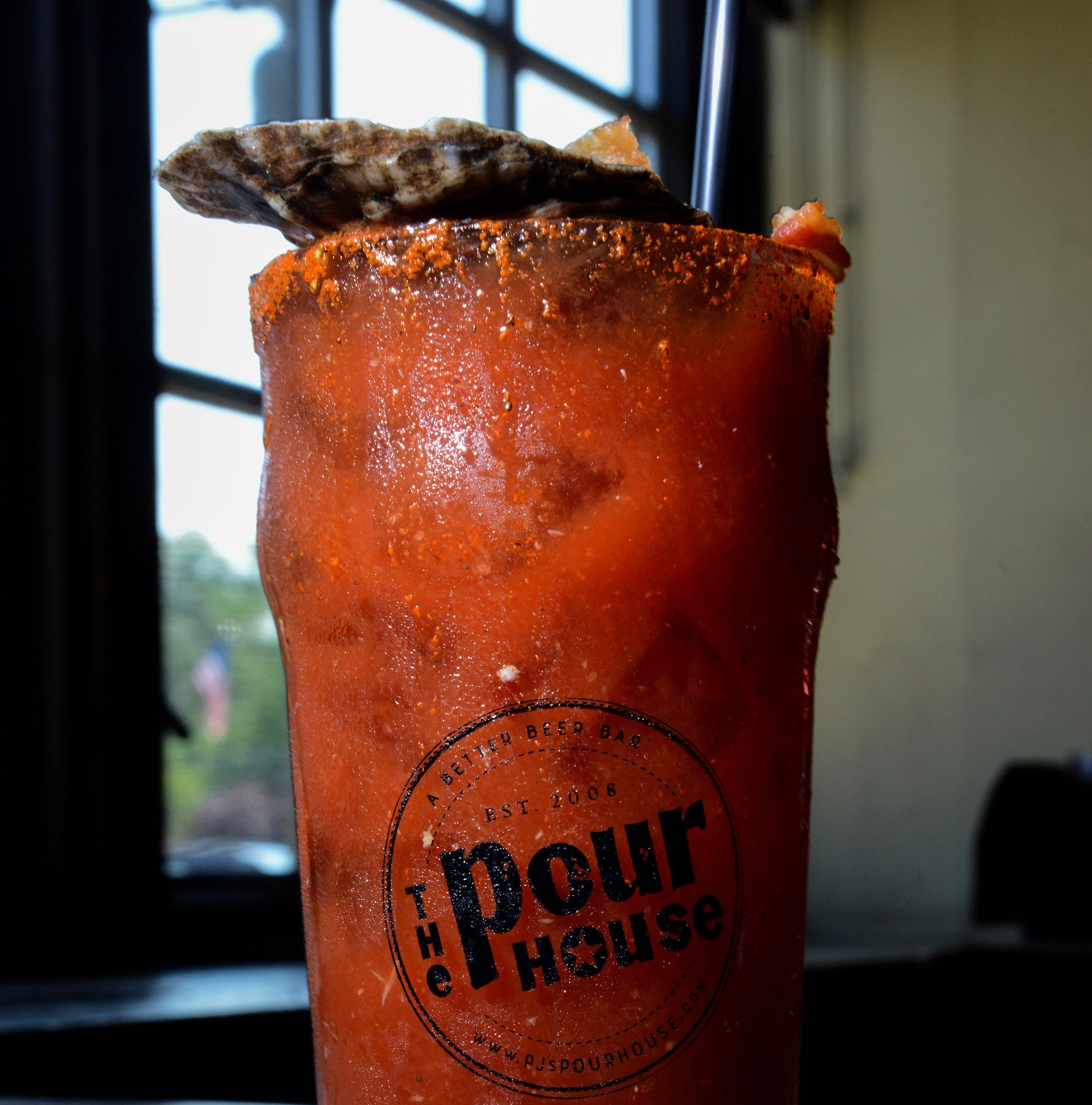 Brunch at The Pour House is family-friendly, with a little hair of the dog