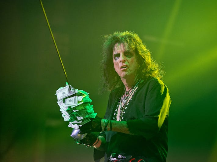 Alice Cooper brought his Paranormal Evening Tour to the Taft Theatre on Tuesday, Sept. 4, 2018.