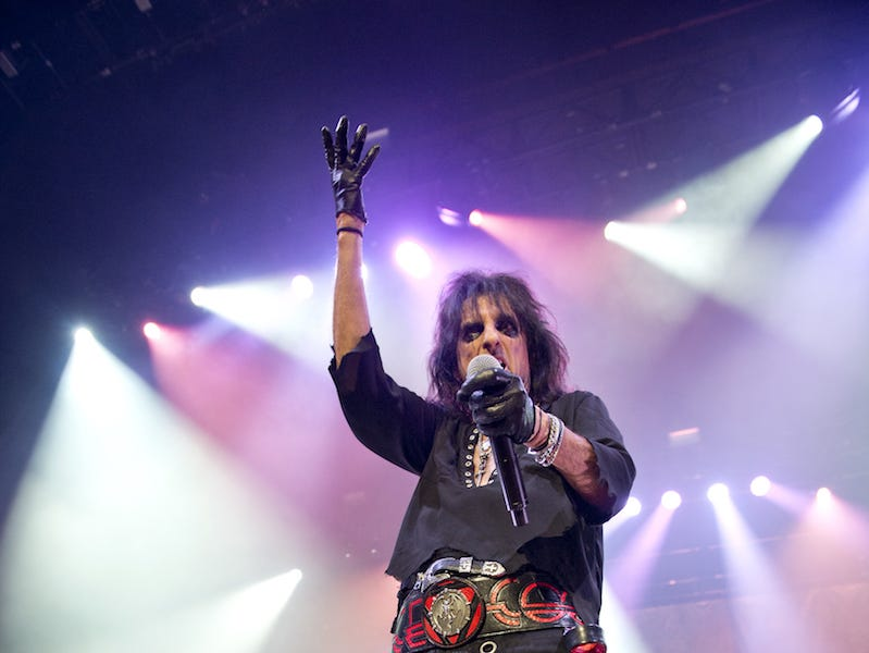 Alice Cooper brought his Paranormal Evening Tour to the Taft Theatre on Tuesday, September 4, 2018.