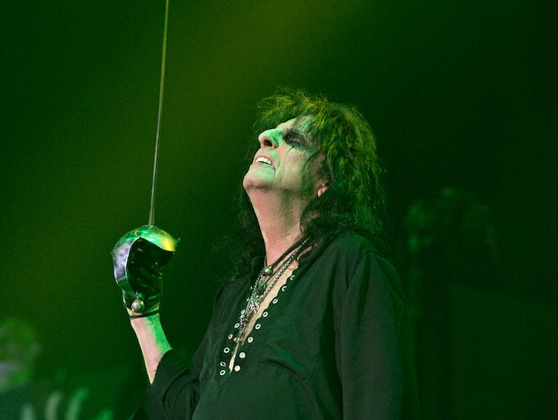 Alice Cooper brought his Paranormal Evening Tour to the Taft Theatre on Tuesday, September 4, 2018. Alice Cooper performs.