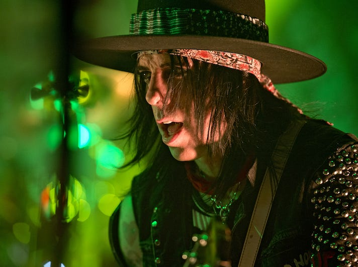 Tommy Henriksen performs in Alice Cooper's band.
