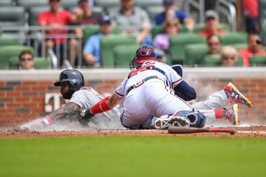 Mlb Boston Red Sox At Atlanta Braves