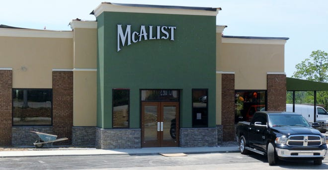 The new McAlister's Deli on Harrison Avenue in Green Township is in the final stages of construction and will open Sept. 24.