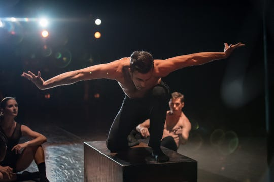 """Taylor Carrasco, a member of the Cincinnati Ballet's corps de ballet, is one of two company members selected to create world premiere ballets for the company's upcoming """"Kaplan New Work Series,"""" running Sept. 13-23 in the Aronoff Center's Jarson-Kaplan Theater. Here, he is seen performing a work choreographed by Heather Britt for the 2017 """"Kaplan New Works Series."""""""