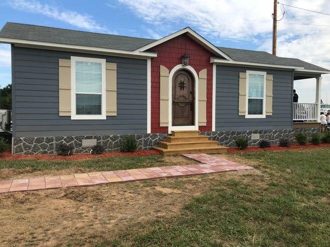 Veterans Village model home