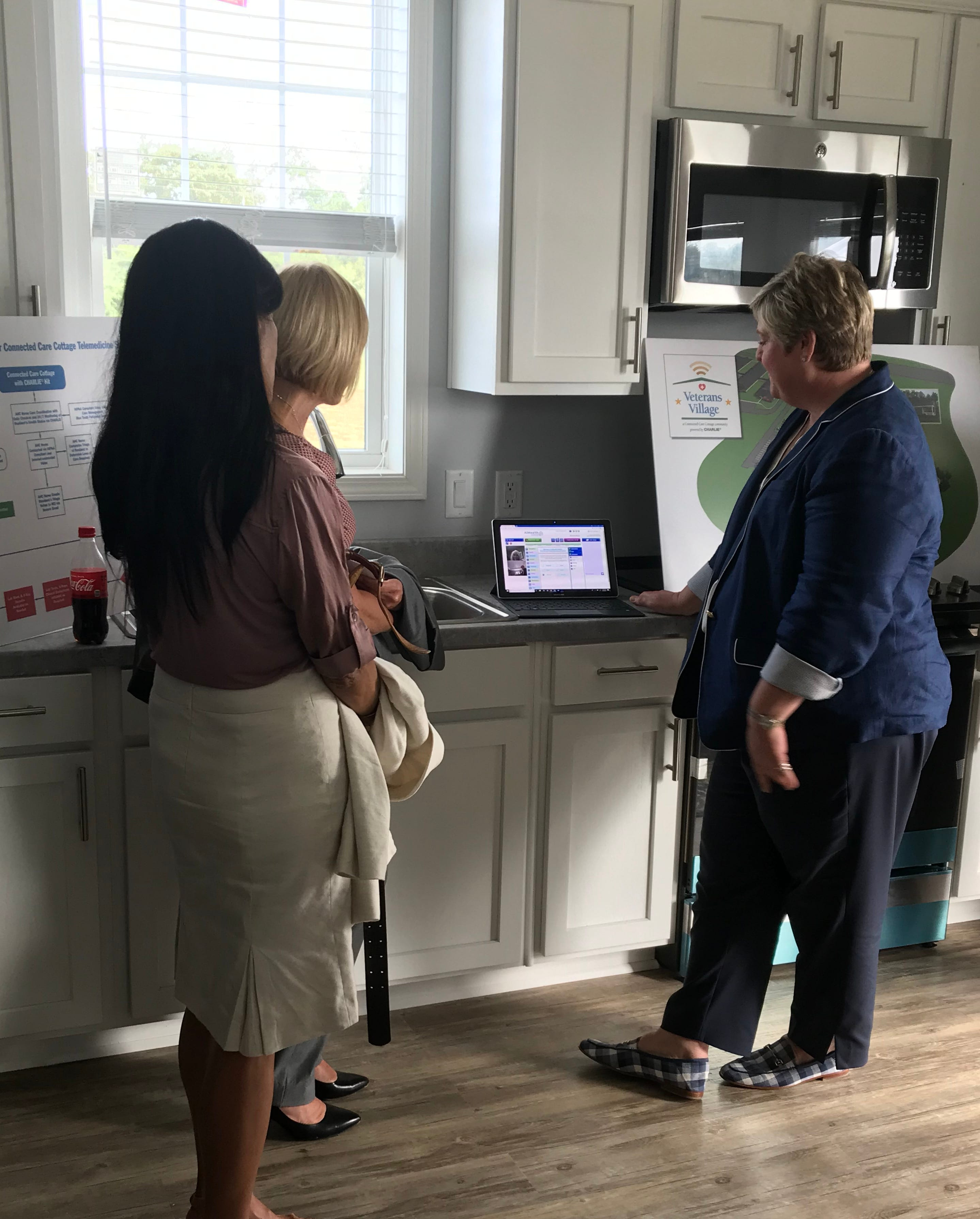 Juliette Simpson explains the technology behind the homes