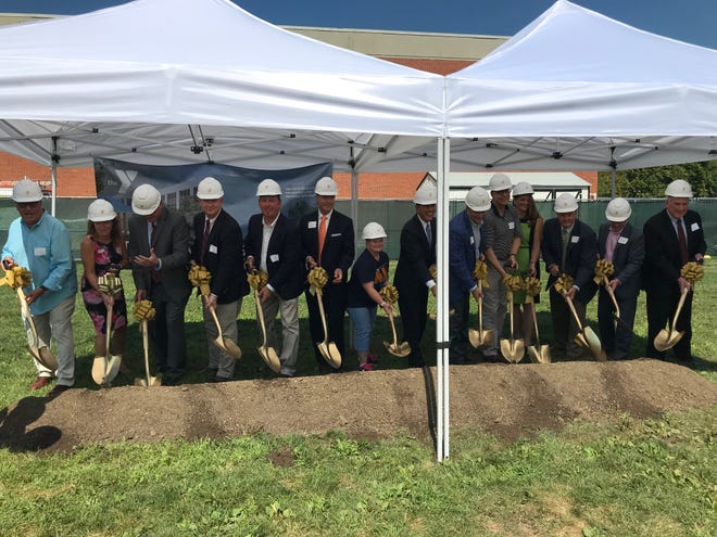 The Somerset County YMCA celebrated the Somerset Hills YMCA expansion with a groundbreaking ceremony Wednesday. The $7 million expansion project includes a two-story 14,000 addition, larger Wellness Center and increased services and programs.