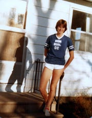 Sue Ryan Weiss was the only girl on the BGM of Brooklyn cross country team during her senior year.