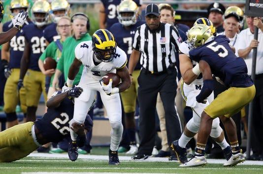 Michigan V Notre Dame