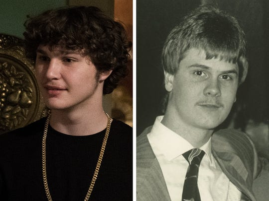 Richie Merritt portraying Richard Wershe Jr., left, and Wershe Jr.