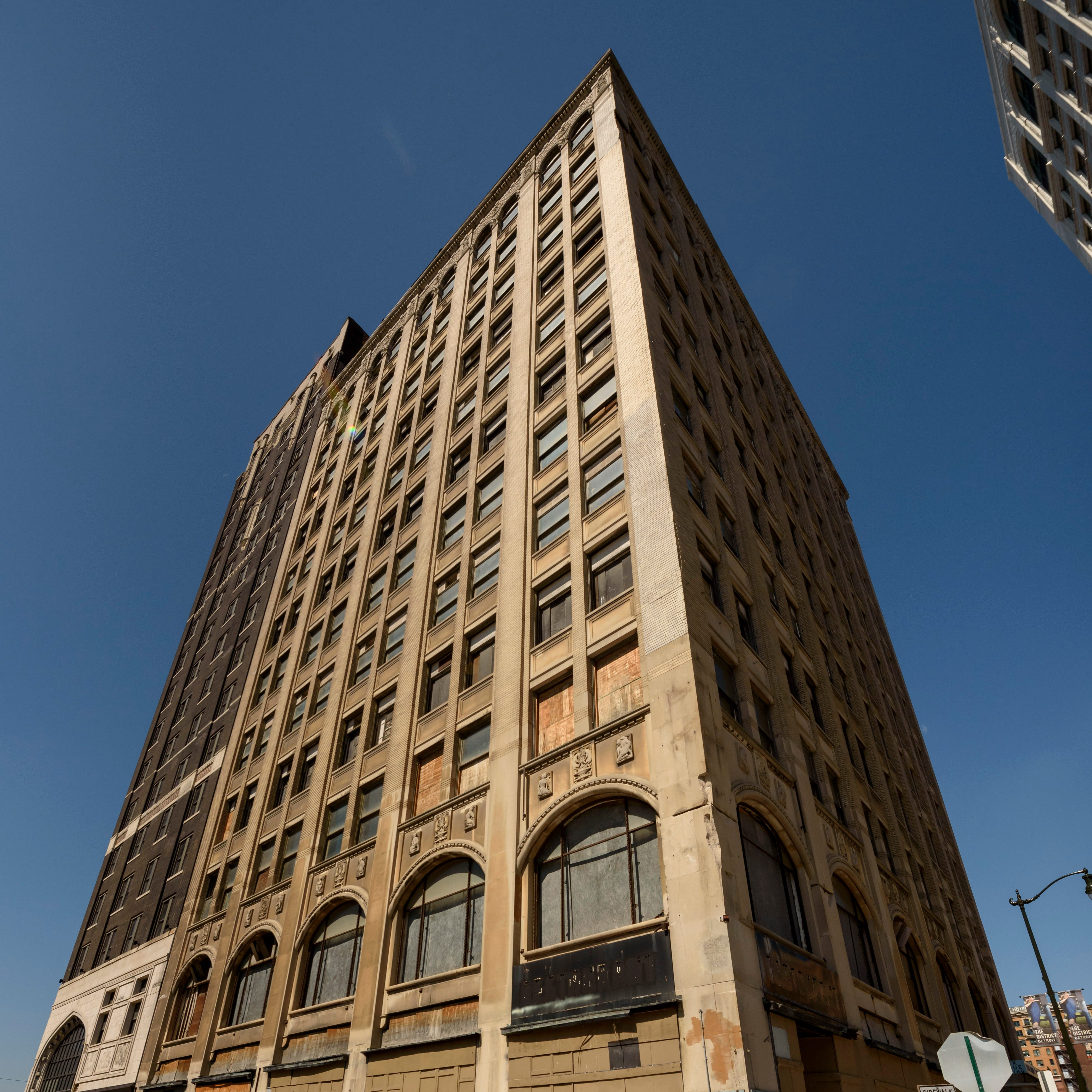 Last 'dangerous' downtown Detroit building being rescued