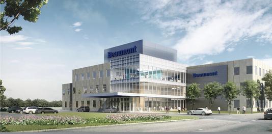 Beaumont Outpatient Center Rendering