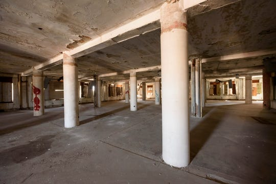 A cleared out floor of the Park Avenue building.